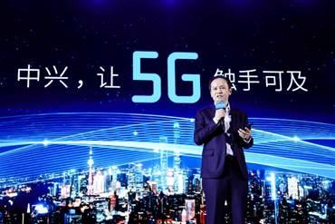 ZTE lanza el primer smartphone 5G en China