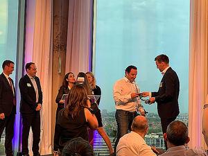 Klinc by Zurich gana el oro al Producto y Servicio de Innovación, otorgado por Efma-Accenture