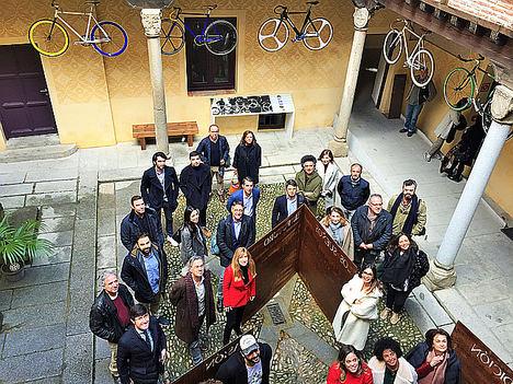 Siete empresas de AEICE muestran su innovadora oferta de servicios, diseño y equipamiento del hábitat en Segovia