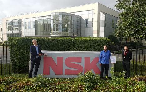 Toyota Europe otorga dos importantes premios a NSK Europe