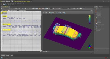 Configuración y ejecución intuitiva de la aplicación en imágenes de nubes de puntos 3D reales.