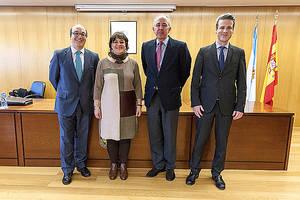 Intervinientes en la sesión: Javier Ybarra, María Medina, Ángel Judel, Fernando Peña.