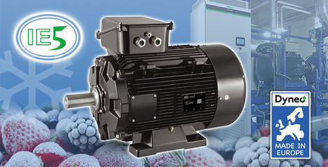 El nuevo Dyneo+ de Nidec Leroy-Somer reduce de manera significativa el consumo de energía en las instalaciones de refrigeración industrial