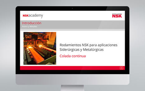 El módulo de formación online para colada continua ya está disponible en la NSK academy