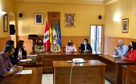 La Junta muestra a la Comisión Europea el proyecto pionero de economía circular de la Sierra de Cádiz