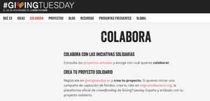 20 ONGs y fundaciones apoyan la tercera edición de #GivingTuesday