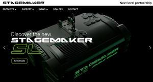 Un nuevo sitio web dedicado a los equipos de elevación STAGEMAKER para el sector del espectáculo