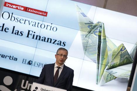 Hernández de Cos avanza una caída del PIB en el primer trimestre e insta a mantener las medidas económicas de apoyo