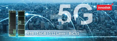 Innodisk presenta el primer SSD PCIe 4.0 de categoría industrial para ponerle el turbo al 5G y al AIoT