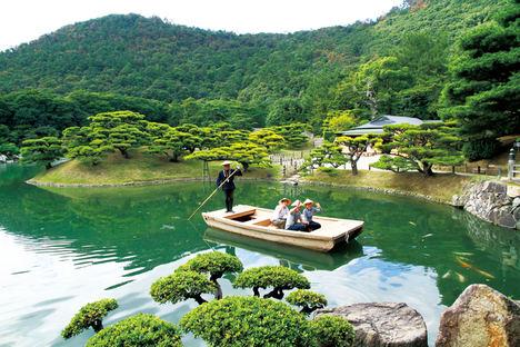 Takamatsu- Ritsurin Garden.