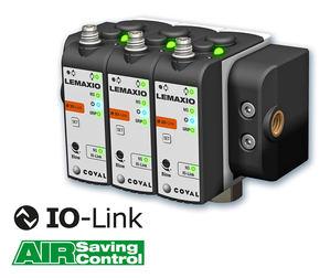 COVAL anuncia una nueva serie de minibombas de vacío con comunicación IO-Link