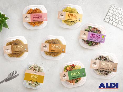 ALDI amplía su gama de platos preparados para llevar La Cocina de ALDI TO GO