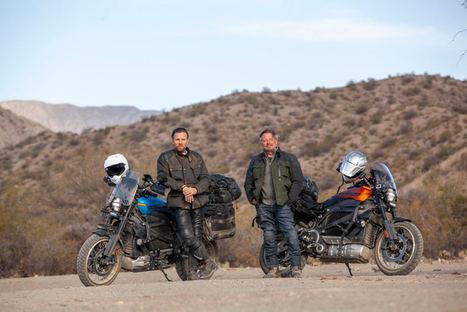 """""""Long Way Up"""": el viaje por Latinoamérica de Ewan Mcgregor y Charley Boorman a lomos de una Harley-Davidson Livewire®"""