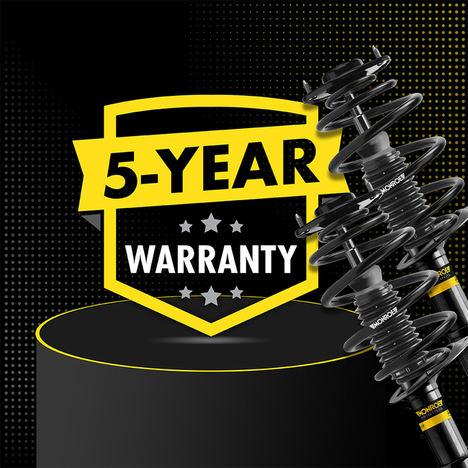 Monroe® anuncia una garantía de 5 años en toda la gama de amortiguadores para vehículo ligero