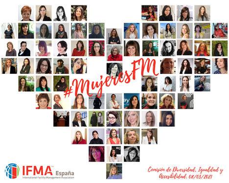 En el 8 de marzo, IFMA España celebra el papel de las mujeres en el Facility Management