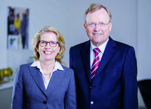 Jutta Humbert y Ullrich Küchenmeister, socios gerentes de NORD DRIVESYSTEMS.