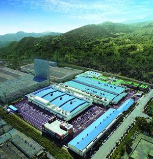 La planta de NSK en Changwon, Corea, es un centro de ámbito internacional para la producción de guías lineales de precisión.