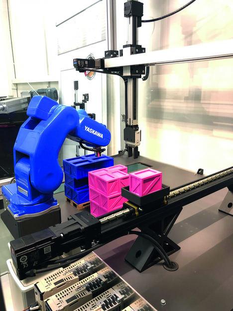 El set de demostración MCA cuenta con un actuador lineal NSK Monocarrier