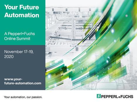Pepperl+Fuchs continúa con su serie de eventos digitales y le invita a su segunda cumbre online