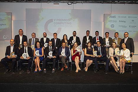 La transformación empresarial protagoniza los V Premios Computing