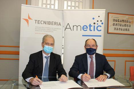 TECNIBERIA y AMETIC aúnan esfuerzos con la firma de un acuerdo de colaboración
