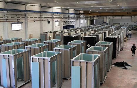The Prototipo Company industrializa los baños de la ampliación del Hospital Gregorio Marañón de Madrid