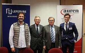 De izqda. a dcha.: Miguel Fresneda, Juan Chozas, Mario Gil Villanueva y Omar Molina.