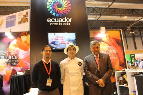 Ecuador deleita con su gastronomía a los visitantes de la XXXI Edición del Salón del Gourmet en Madrid