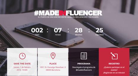 Llega a Barcelona #madeinfluencer, el punto de encuentro de Influencers, Bloggers y Marcas