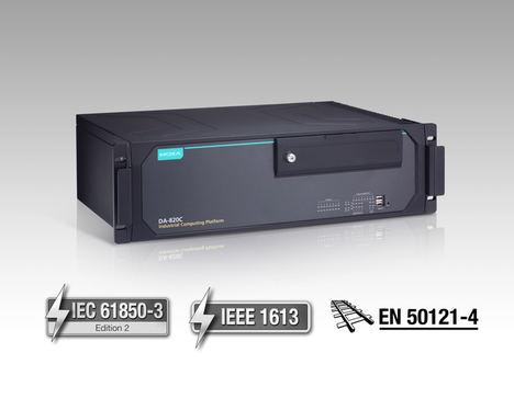 Moxa presenta los ordenadores IEC 61850-3 PRP/HSR de altas prestaciones