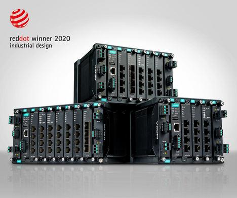 Conmutadores Ethernet industriales modulares premiados para el siguiente nivel de versatilidad de red que optimizan sus futuras inversiones en redes