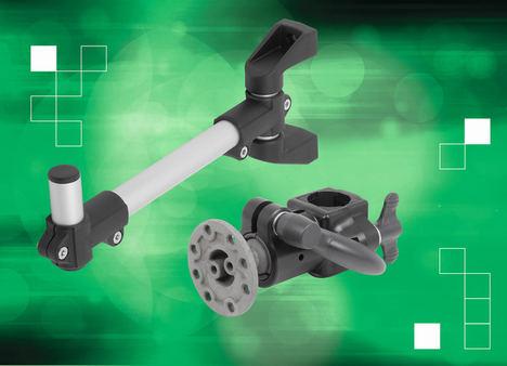 norelem asegura la tecnología de la fábrica con nuevos soportes de monitor y gama de accesorios