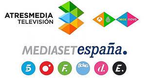La CNMC sanciona a Atresmedia y a Mediaset por superar el tiempo de emisión de publicidad