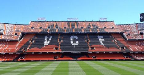 Eactivos.com subasta 17.600 acciones del Valencia CF, valoradas en 105.600 euros