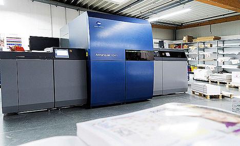 Rehms Druck consigue la primera certificación QSD UV de inyección de tinta en Alemania