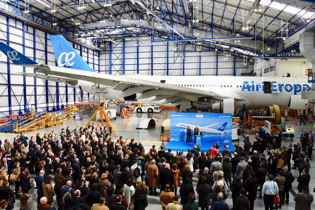 Air europa presenta su primer boeing 787 9 econom a de hoy - Oficinas air europa madrid ...