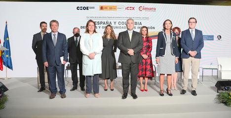 Se celebra un acto empresarial España y Colombia para reforzar las relaciones comerciales bilaterales