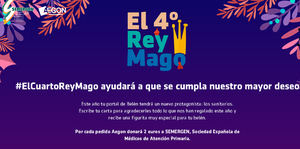 Aegon homenajea a los profesionales sanitarios convirtiéndoles en El Cuarto Rey Mago del Belén de los hogares españoles