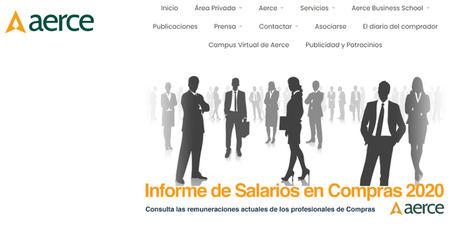 Salarios de los Profesionales de Compras