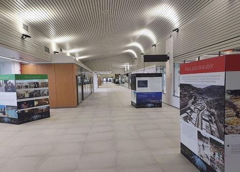 El aeropuerto de Vitoria-Gasteiz renueva totalmente su iluminación interior para reducir un 55% su gasto energético