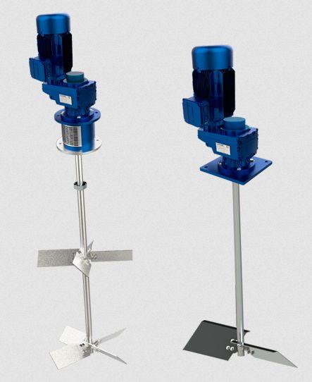 Los agitadores industriales y sus distintos tipos de aplicaciones