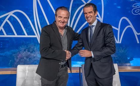 Jesús Astondoa, Presidente de ANEN (izqda.) y Carlos Aras, Presidente de AEGY.