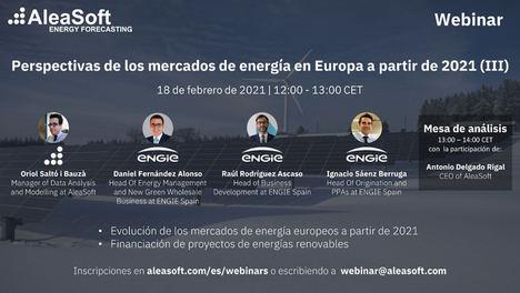 AleaSoft: Los atractivos de los PPA para la financiación de proyectos de energías renovables