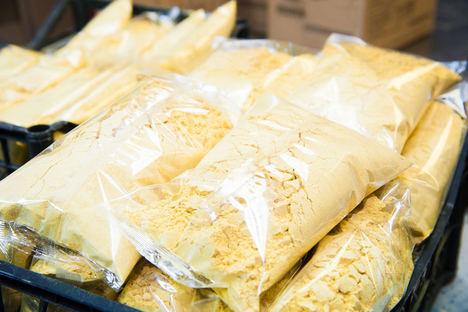 El alimento en polvo cubre necesidades nutricionales básicas con menor necesidad de manipulación para evitar contagios en hospitales o residencias de ancianos