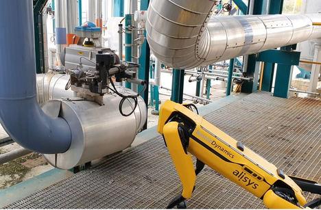 5G, IoT y tecnologías cloud para gestionar flotas de robots en el MWC21