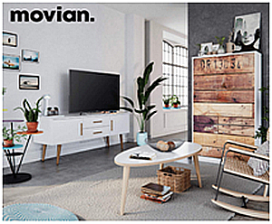 Amazon lanza dos marcas propias de muebles: Movian and Alkove