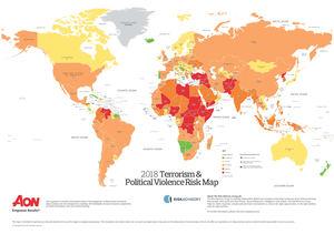 La volatilidad política global está conduciendo a unos mayores niveles de violencia política y riesgo político