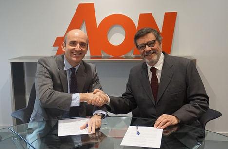 Aon firma un acuerdo de colaboración con el Club de Exportadores e Inversores Españoles