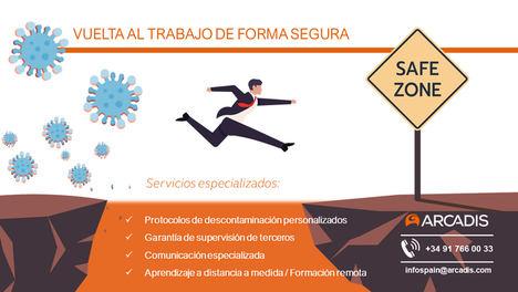 Arcadis España lanza su servicio de asesoramiento a la desinfección tras el COVID-19