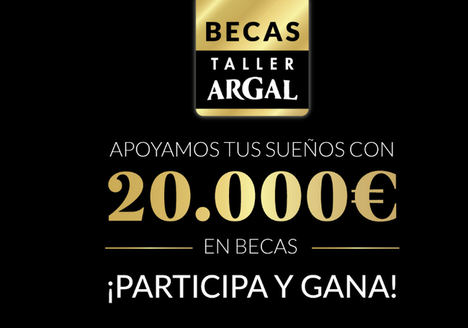 La tercera edición de las Becas Taller Argal repartirá 20.000 euros